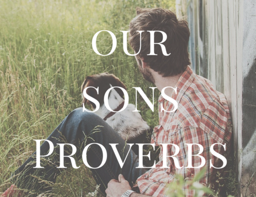 Teaching our sons Proverbs 31. Why we should. MarriedbyHisGrace.com