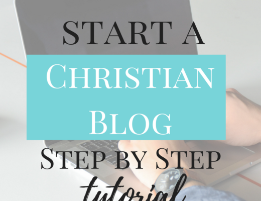 how-to-start-a-christian-blog