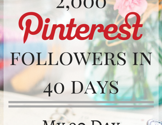How I gained 2,000 PInterest followers in 40 days